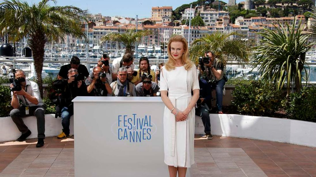 """Cast member Nicole Kidman poses during a photocall for the film """"Grace of Monaco"""" out of competition before the opening of the 67th Cannes Film Festival in Cannes"""