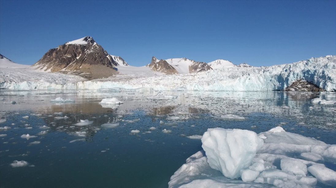 Sea ice in the Arctic is melting at an alarming rate.