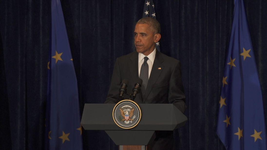 Obama On Dallas Shootings