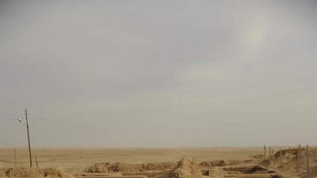 Remains of the Nabu Temple in the ancient city of Nimrud, Iraq