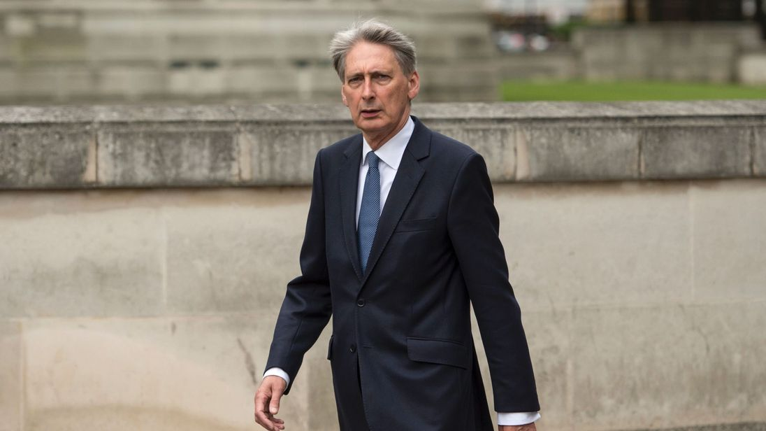 Philip Hammond becomes Chancellor of the Exchequer