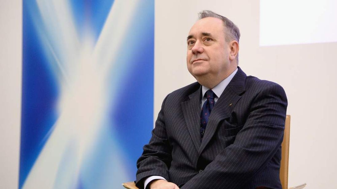 Scottish First Minister Alex Salmond prepares for the independence referendum in September.