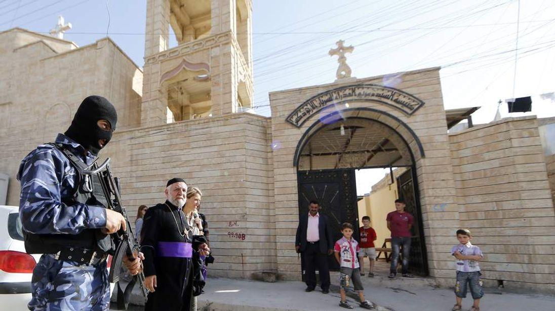 IRAQ-UNREST-CHRISTIANS