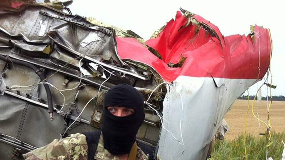 MH17 plane crash.