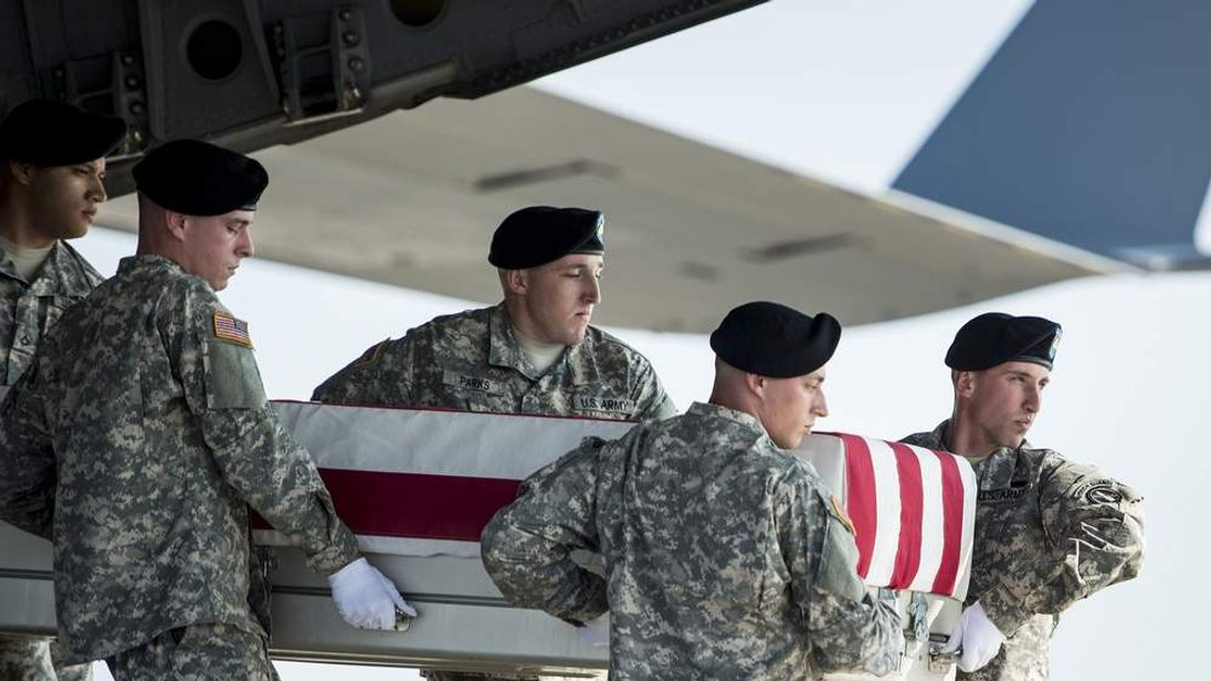 Remains Of Two-Star General Harold Greene Killed In Afghanistan Returned To US