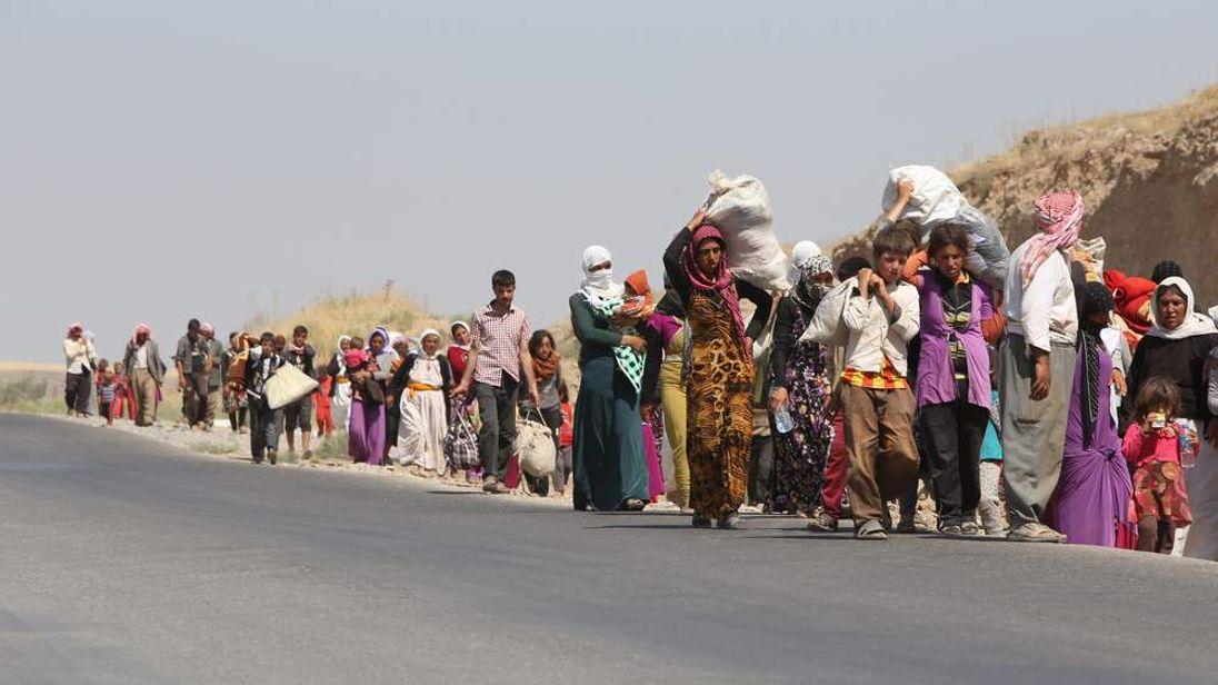 IRAQ-UNREST-YAZIDIS