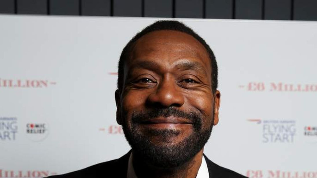 Lenny Henry pictured in 2013