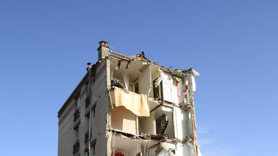 FRANCE-HOUSING-ACCIDENT