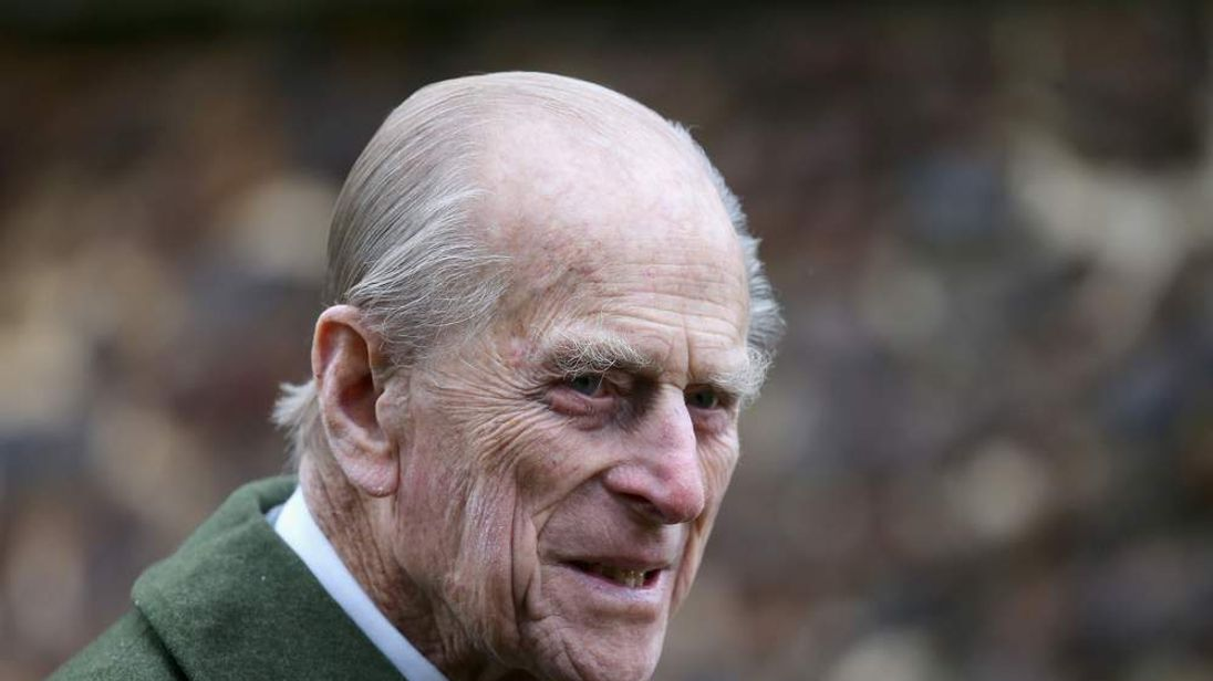 Prince Phillip, Duke of Edinburgh, leaves