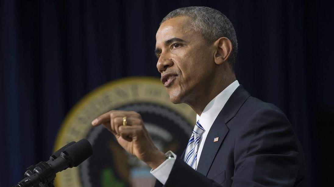 Barack Obama At Terrorism Summit