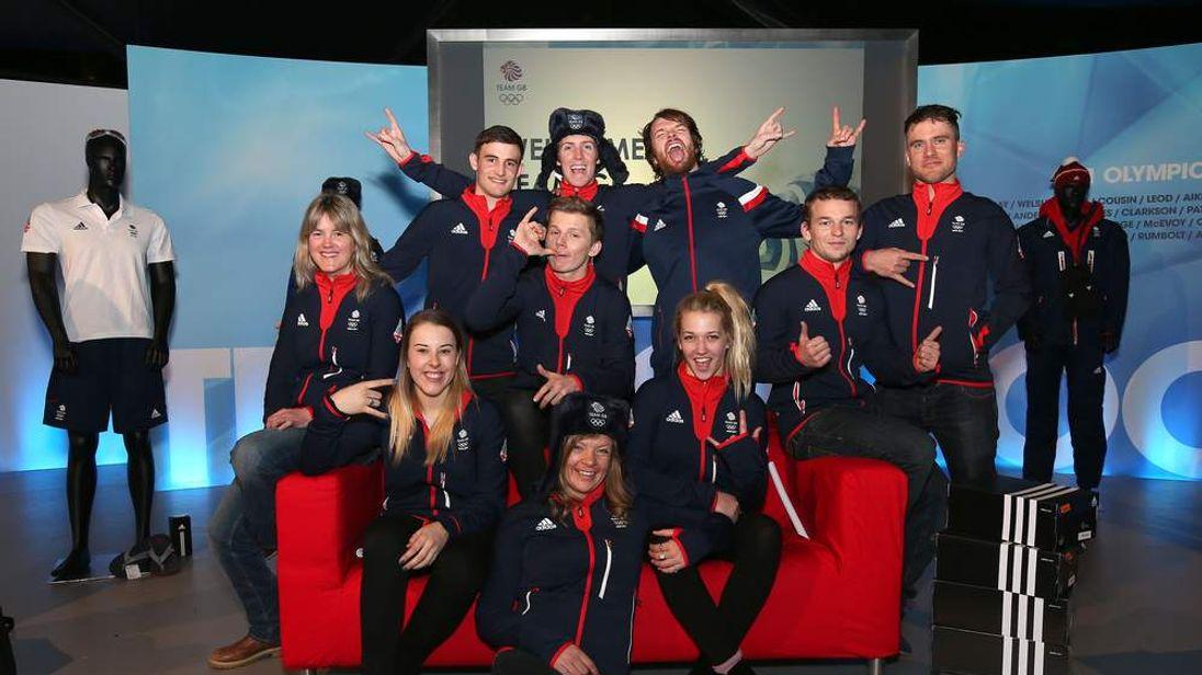 Team GB Kitting Out ahead of Sochi Winter Olympics