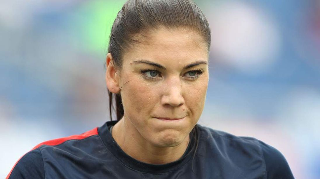 US women's national soccer team star Hope Solo was arrested on suspicion of domestic violence on June 20, 2014