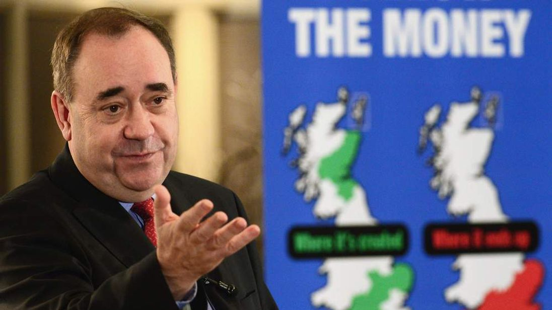 Alex Salmond Addresses Business Leaders On Referendum Plans