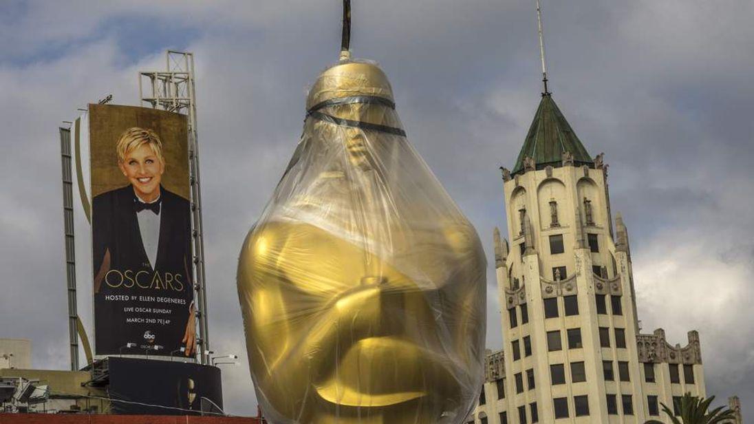 Oscars preparations