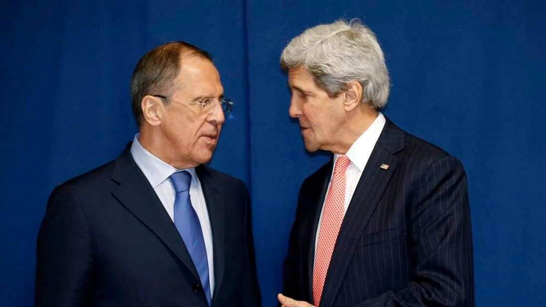 Kerry and Lavrov in Rome