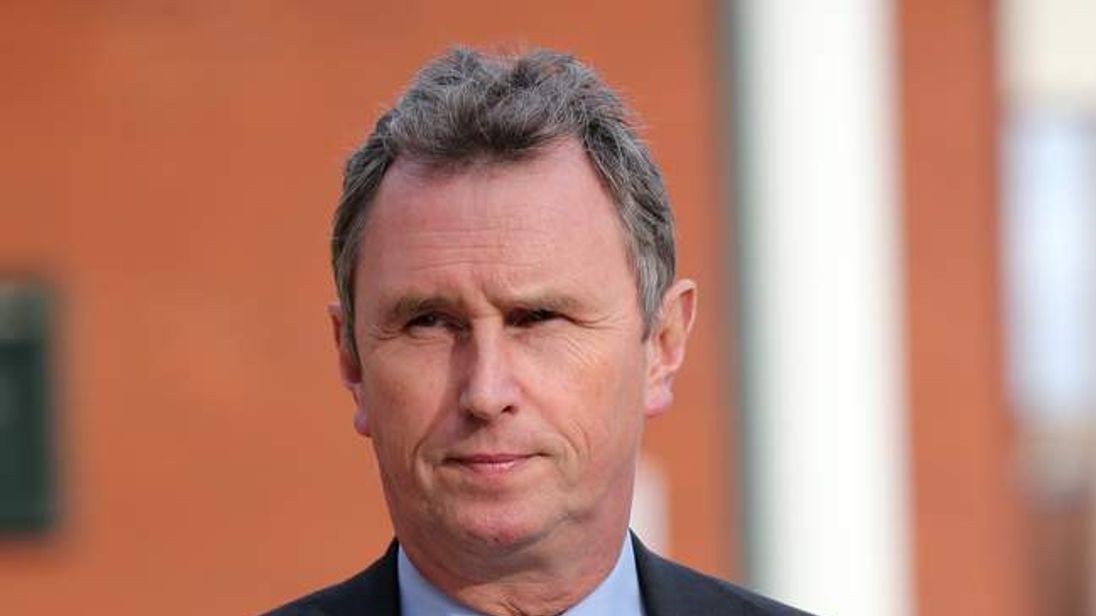 Former Tory MP Nigel Evans.