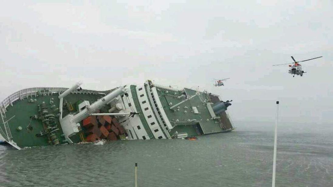 Ferry Sinks Off The Coast Of South Korea