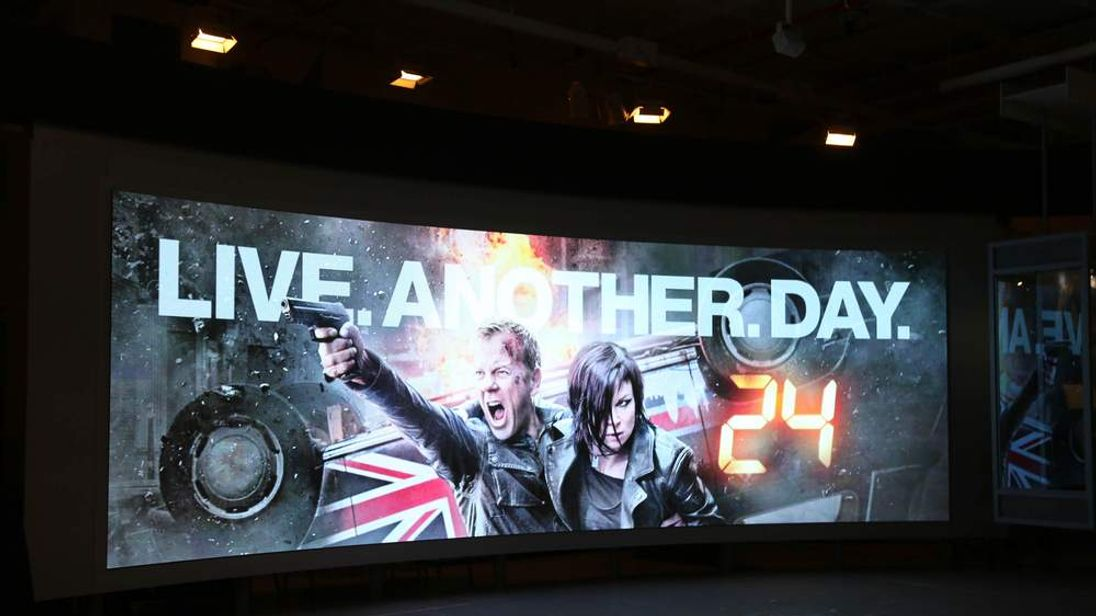 24: Live Another Day World Premier Screen