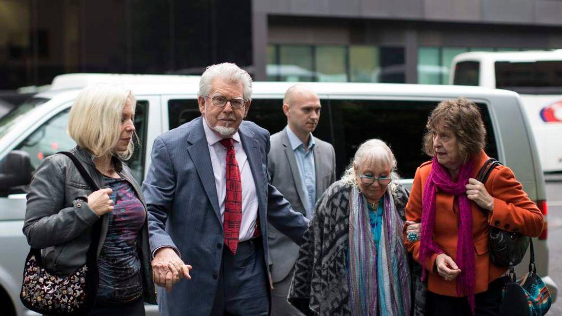Rolf Harris On Trail For Alleged Indecent Assault