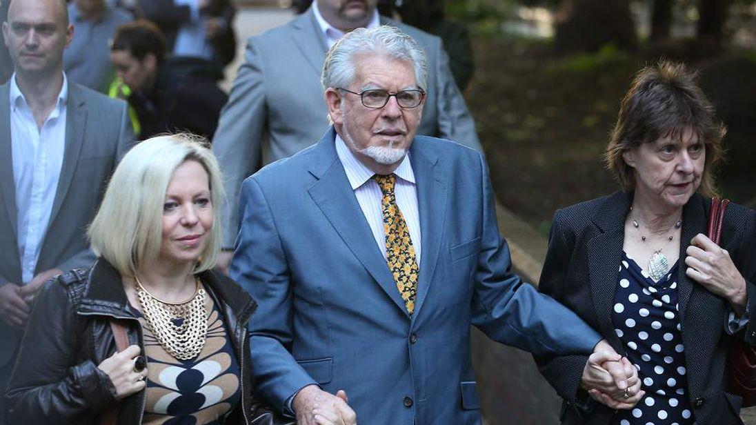 Rolf Harris On Trial  For Alleged Indecent Assault