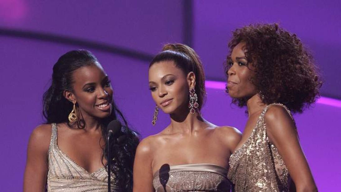 Destiny's Child in 2006