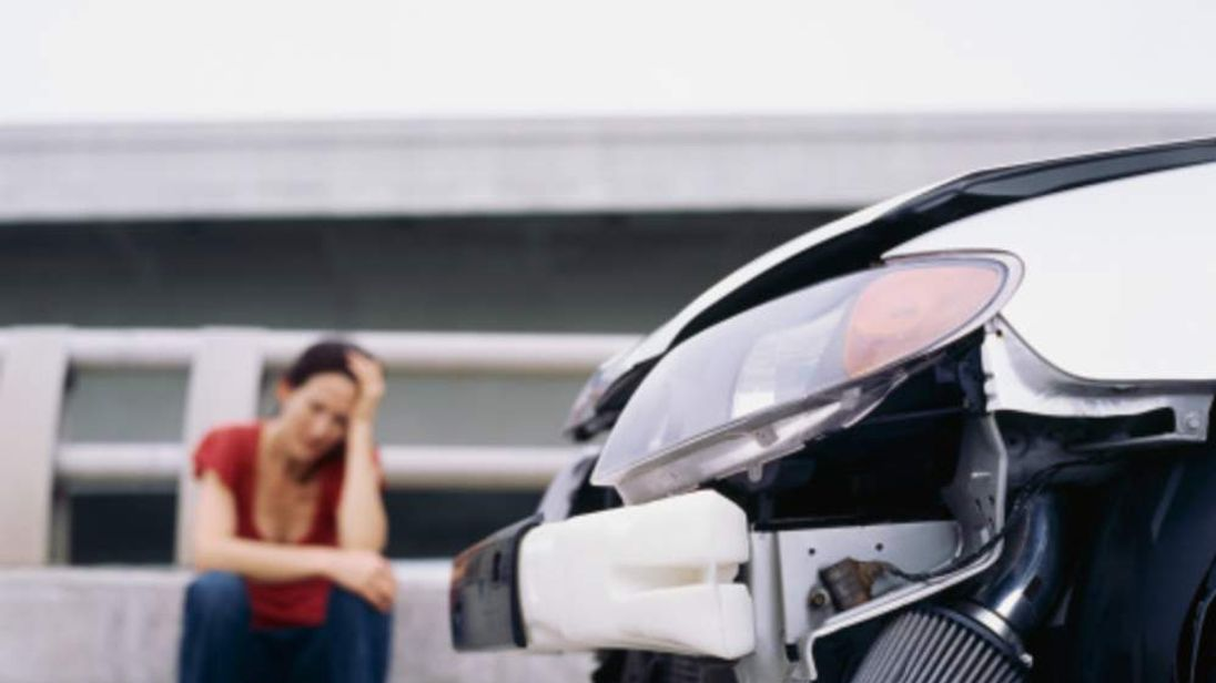 Car crash (file picture)