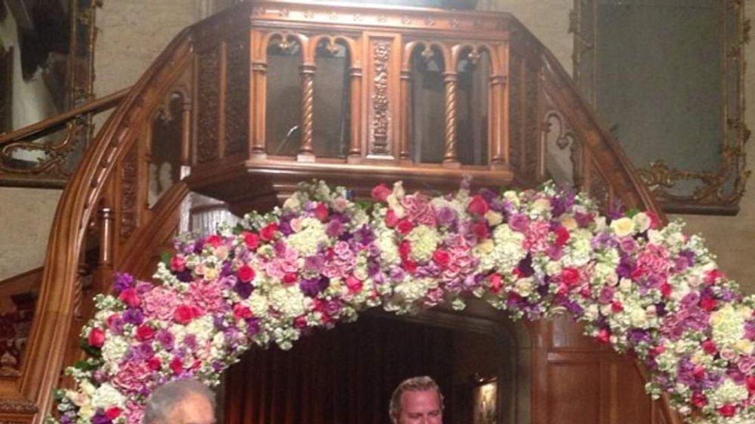 Crystal and Hugh Hefner get married (Pic: Crystal Hefner)