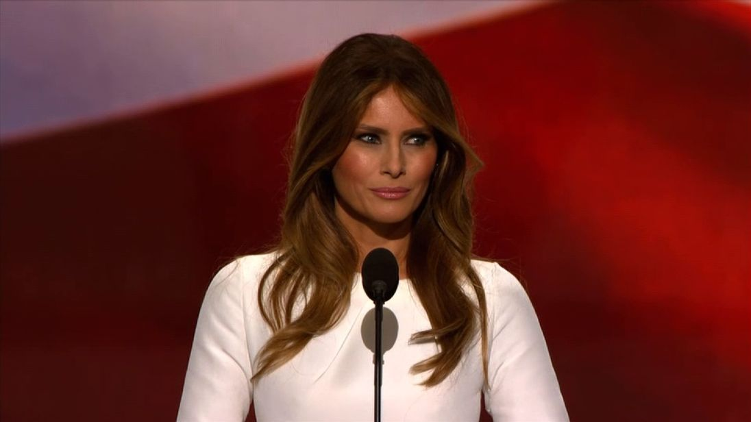 Melania: He's Tough, But He's Also Kind