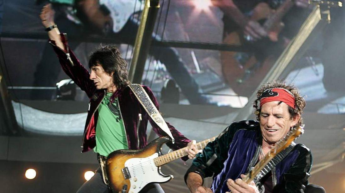 The Rolling Stones Play Twickenham Stadium