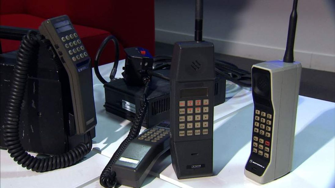 Mobiles have come a long way since the 1980s