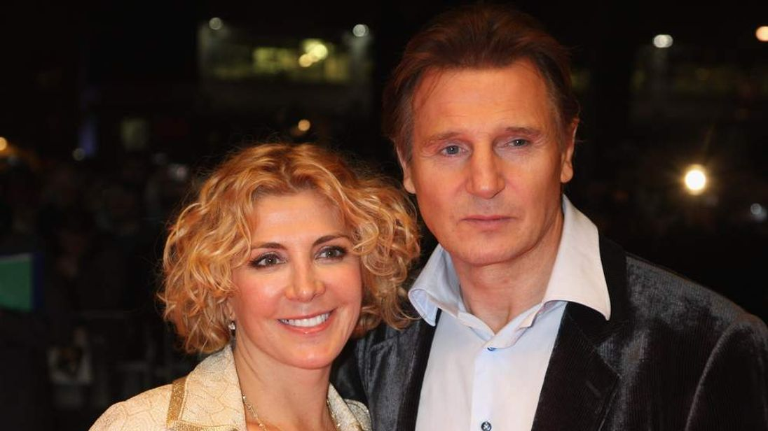 Liam Neeson and Natasha Richardso