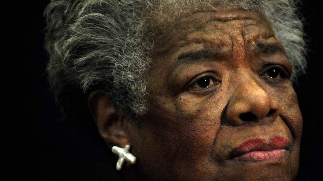 Poet Maya Angelou
