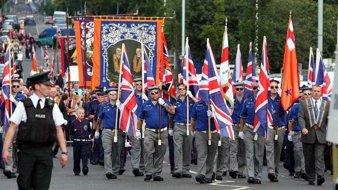 Orange Order Parade