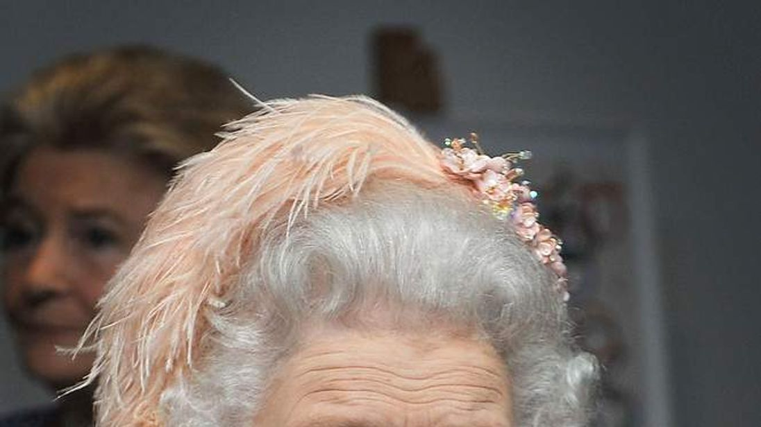 The Queen at Olympics opening ceremony