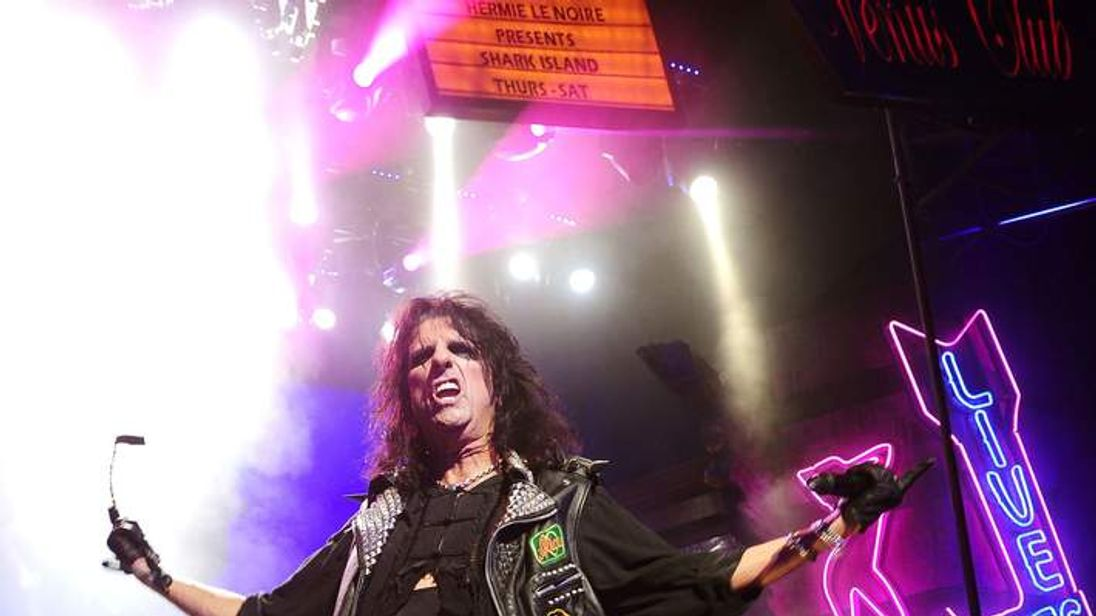 Alice Cooper joins Rock Of Ages The Musical at Shaftesbury Theatre, London
