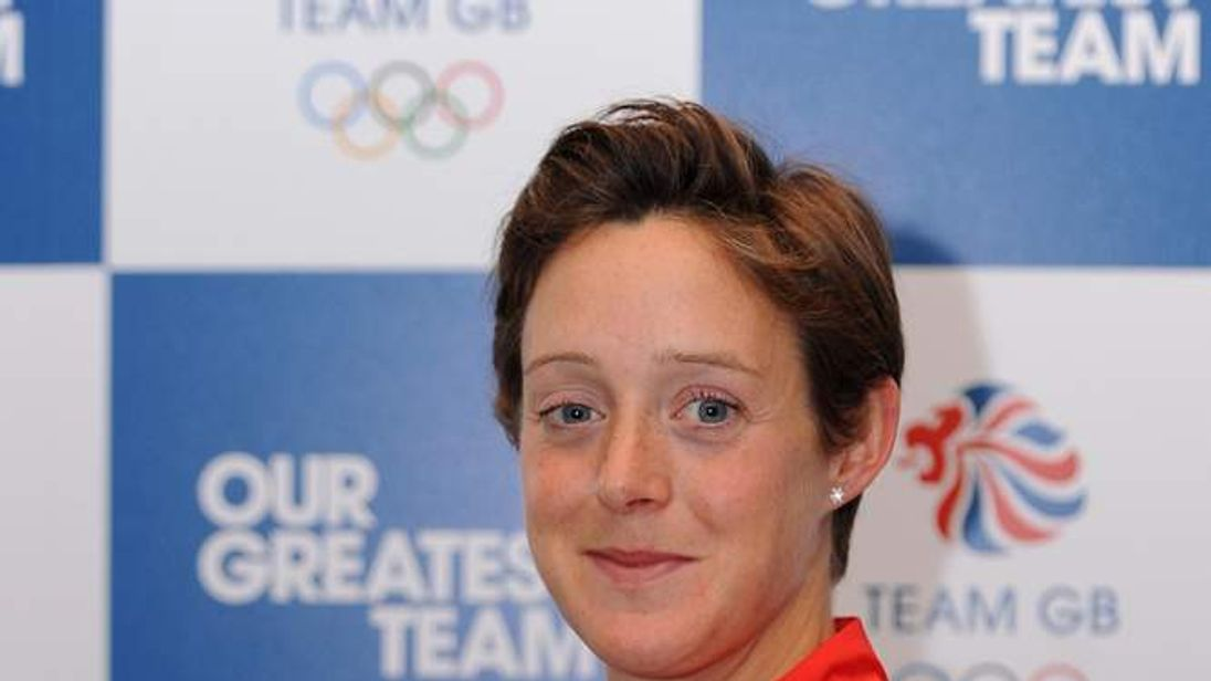Great Britain's hockey player Hannah MacLeod