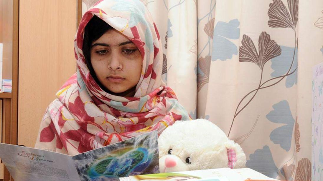 Malala Yousafzai in UK hospital