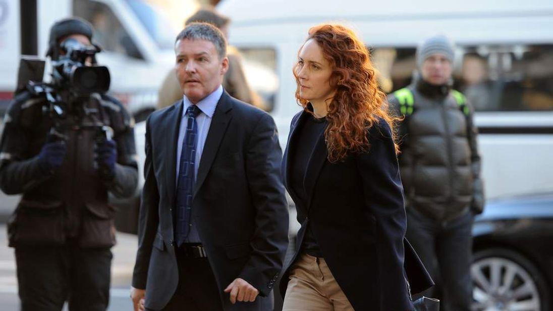 Rebekah Brooks arrives at court