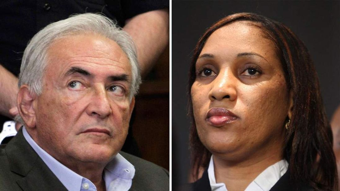 Dominique Strauss-Kahn & maid Nafissatou Diallo