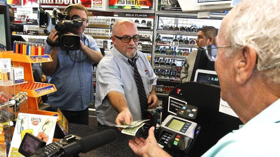 Superball Arizona winning ticket store