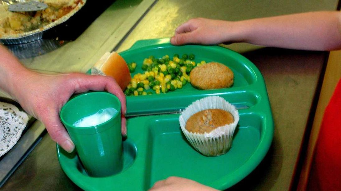 Child Given School Dinner