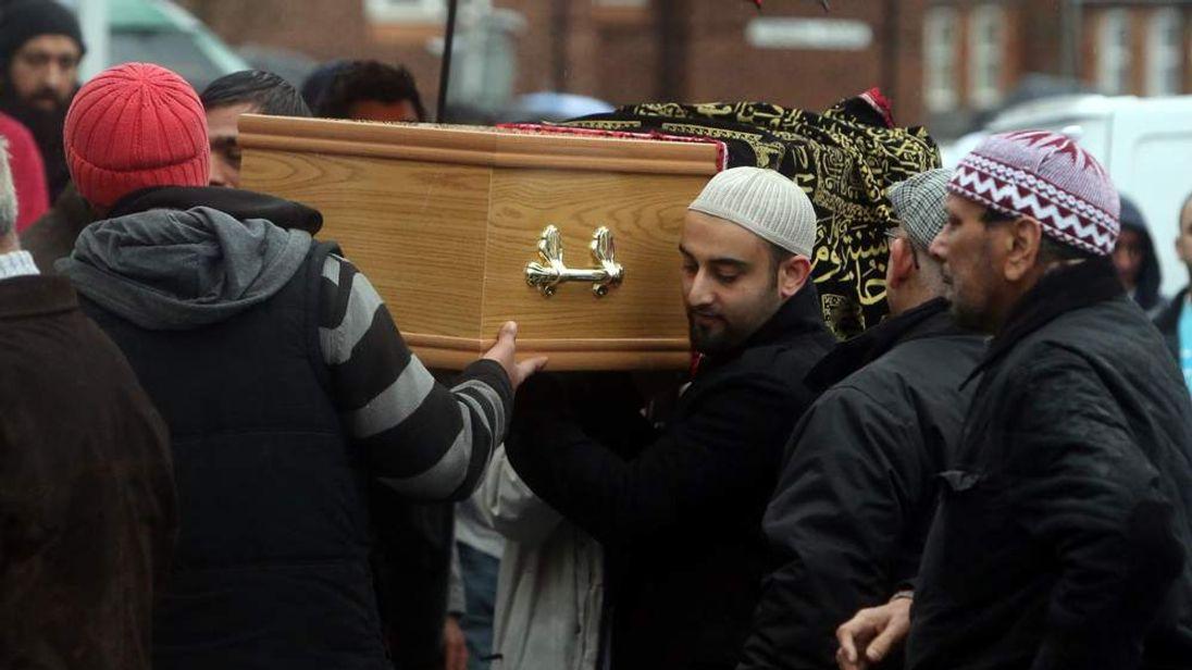 M6 crash funeral