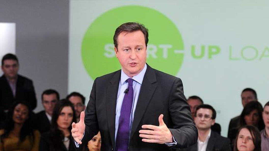 David Cameron in Preston