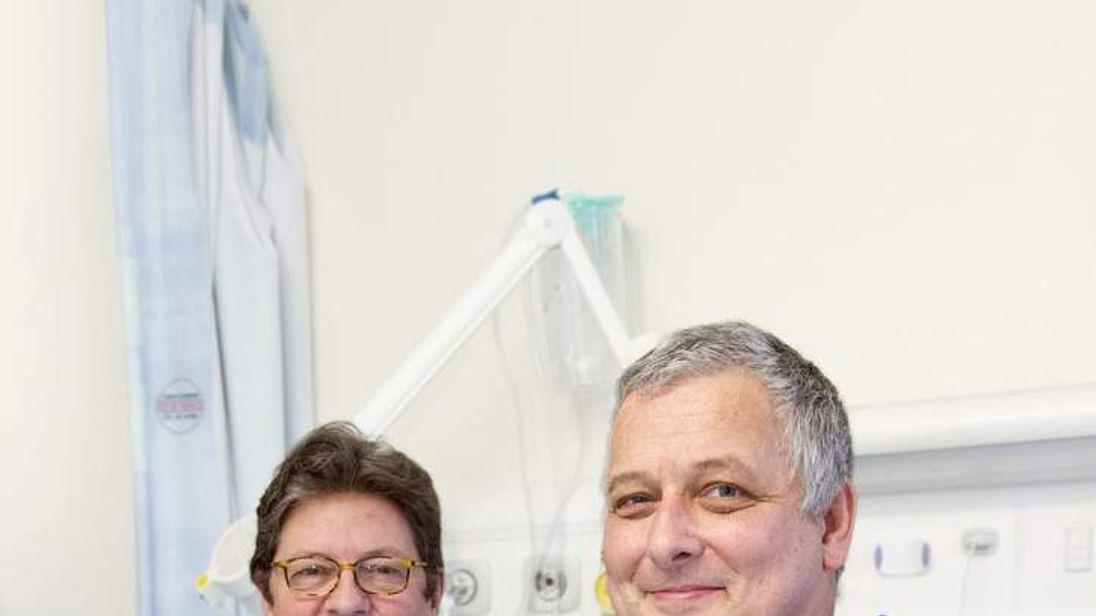 UK's first hand transplant
