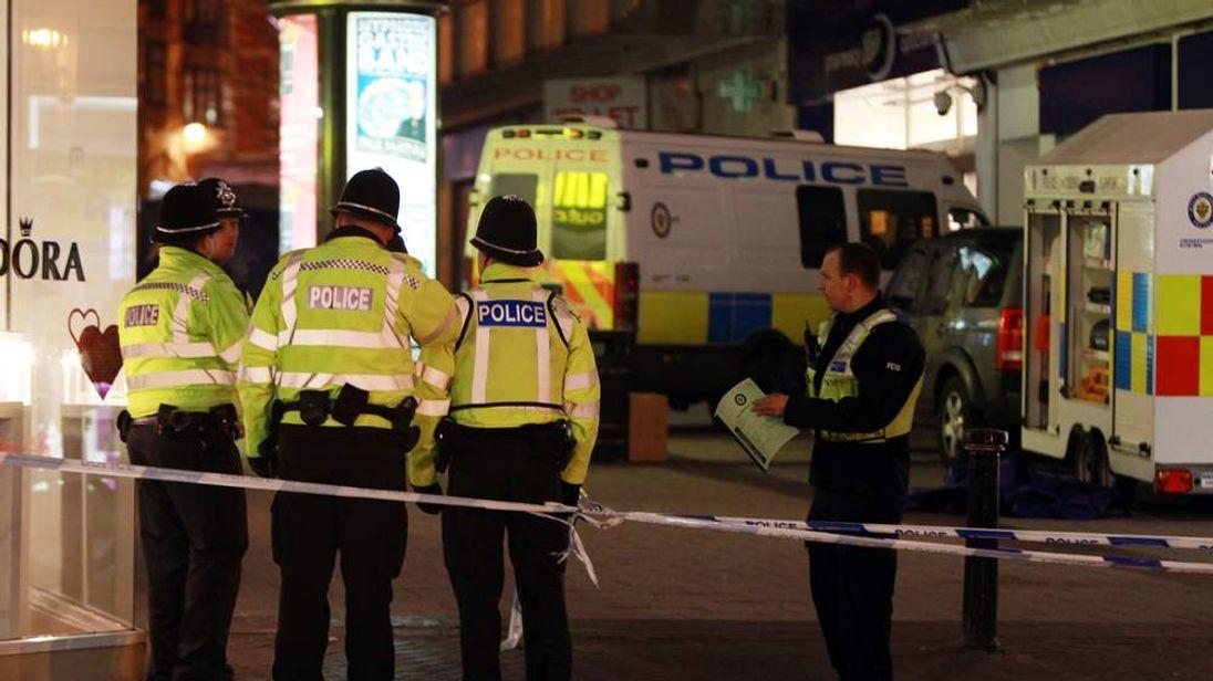 Double stabbing in Birmingham