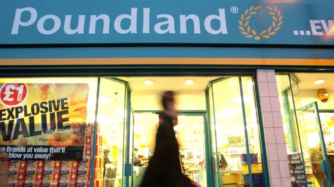 Sales soar at Poundland