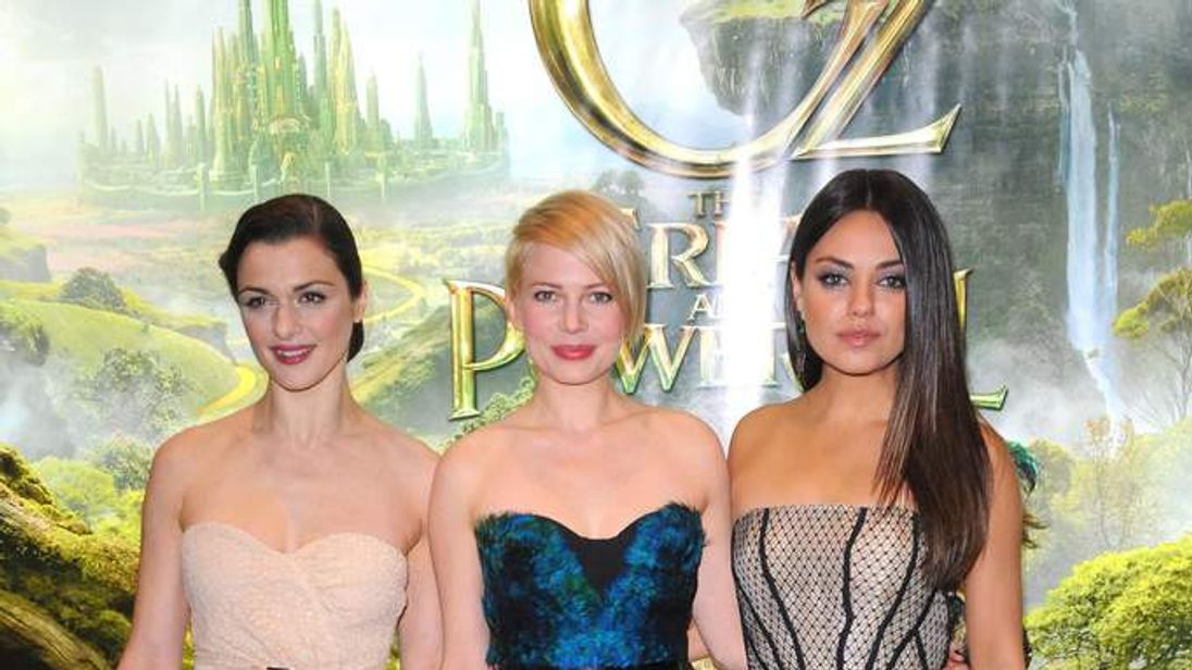 Oz The Great and Powerful Premiere - London