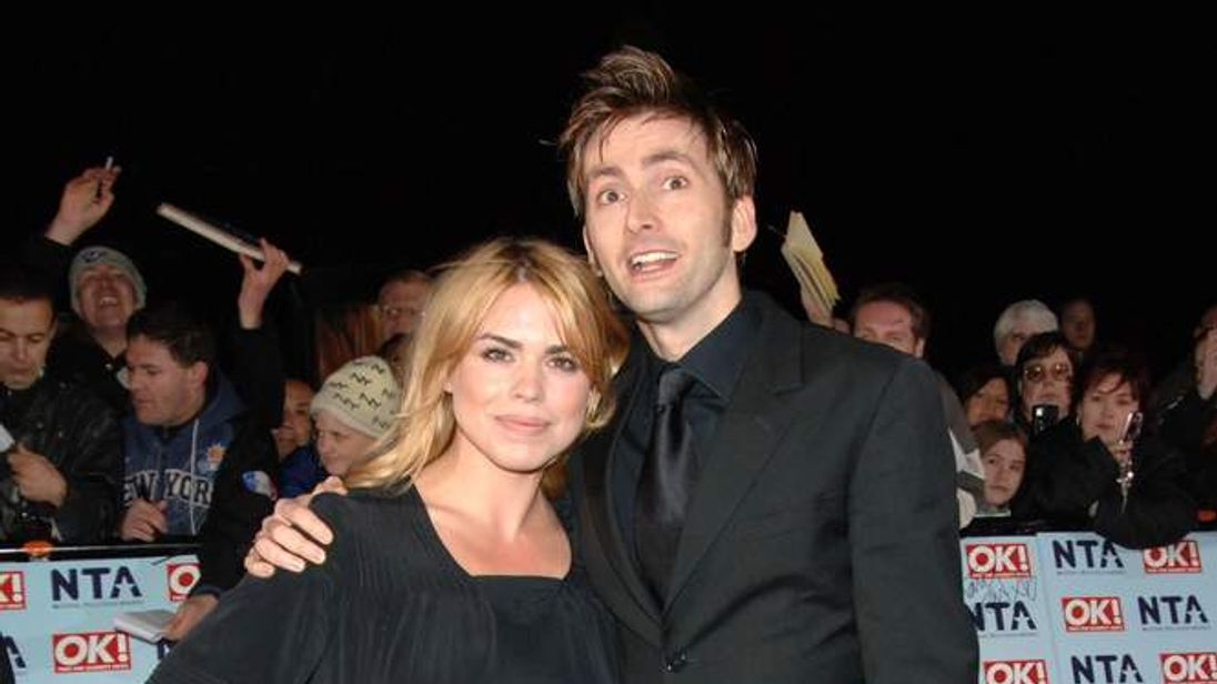 Tennant and Piper return to Dr Who