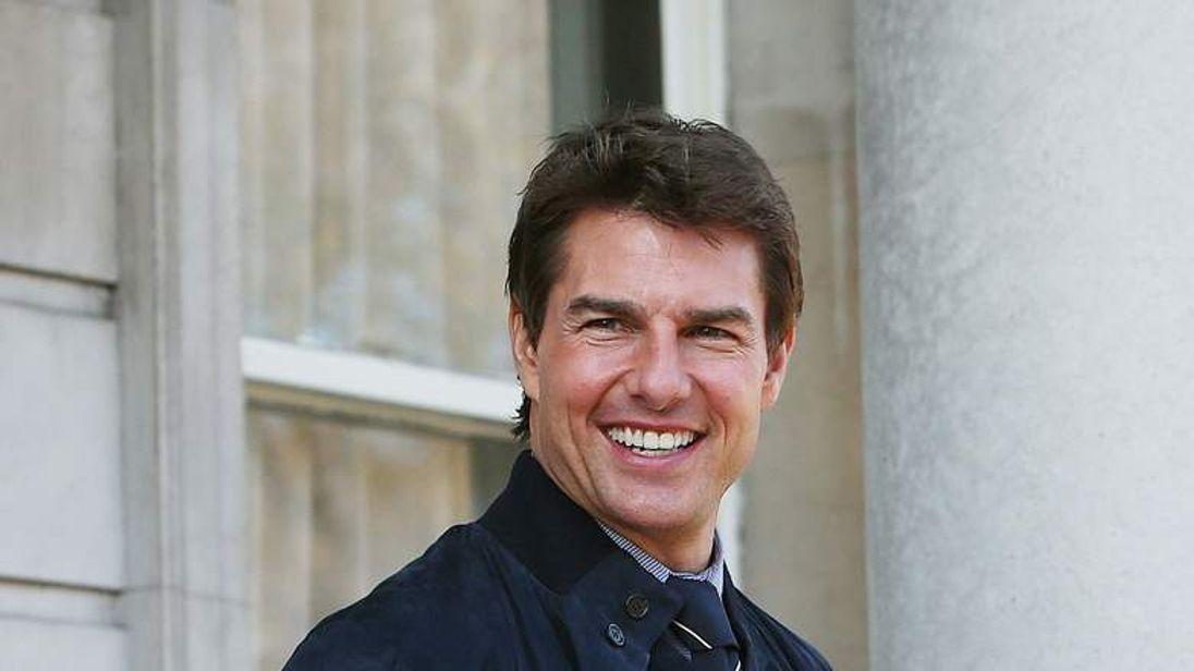 Tom Cruise visits Dublin