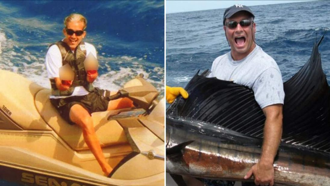 Facebook photos showed two of the defendants jet skiing and fishing